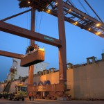 Today, ships are loaded and unloaded using enormous cranes that are operated by longshoremen. Plans are in place at both ports to install automated cranes and driverless trucks, which will mean even less workers at the terminal.